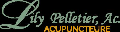 Logo Lily Pelletier, acupuncteure