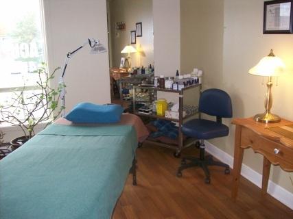 Salle de traitements d'acupuncture